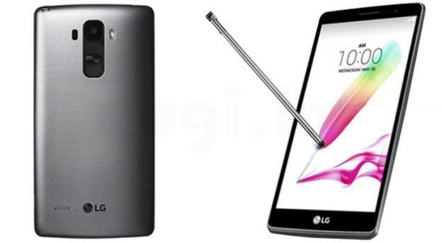Smartphone con pennino